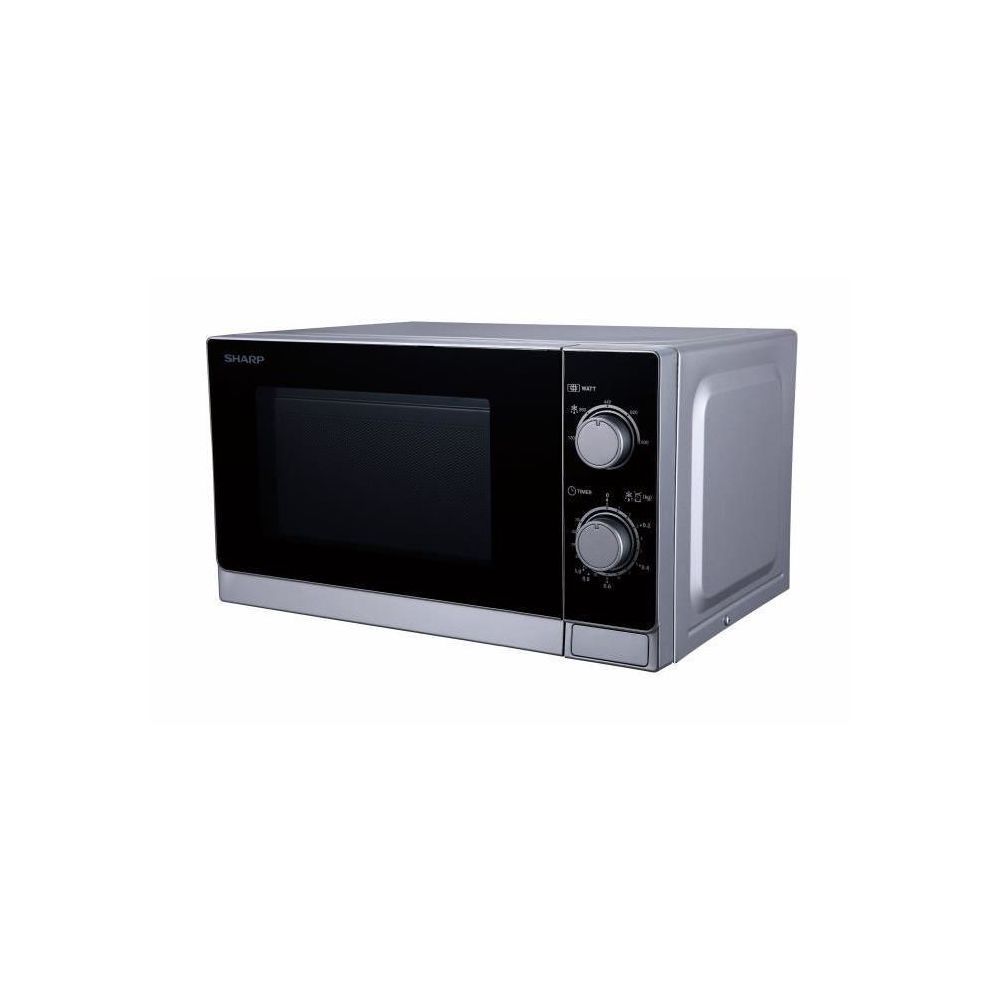 Sharp Four à micro-ondes 20 litres R200INW silver