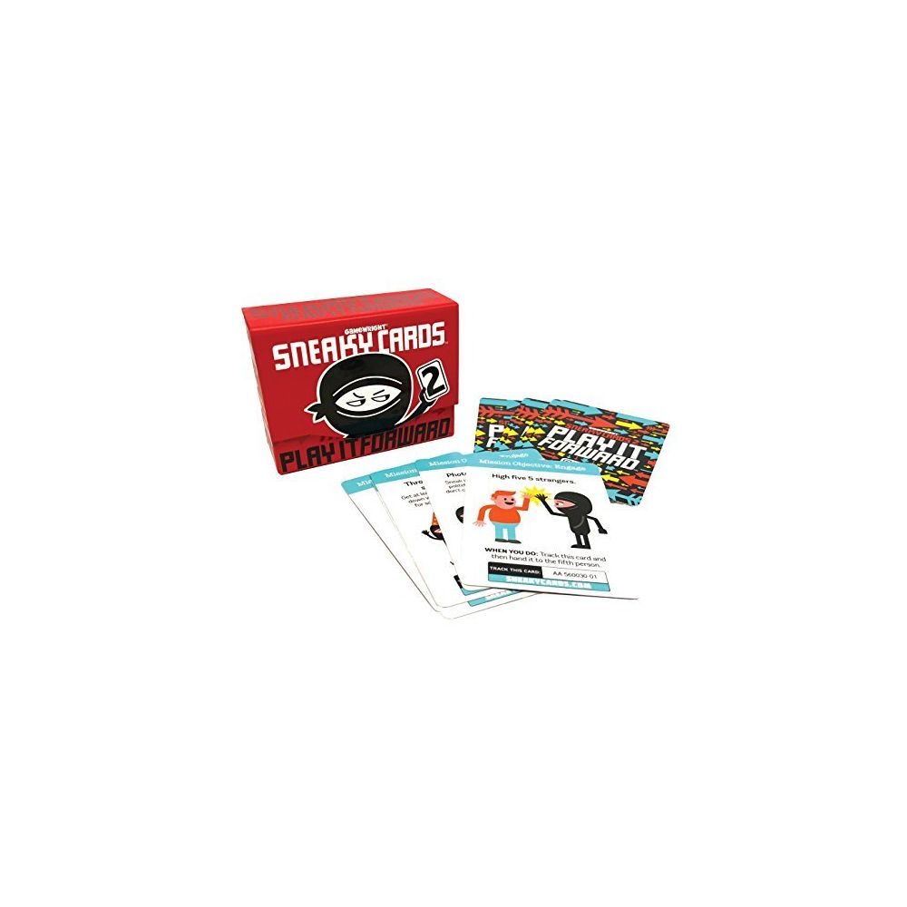 Gamewright Gamewright Sneaky Cards 2 Play It Forward