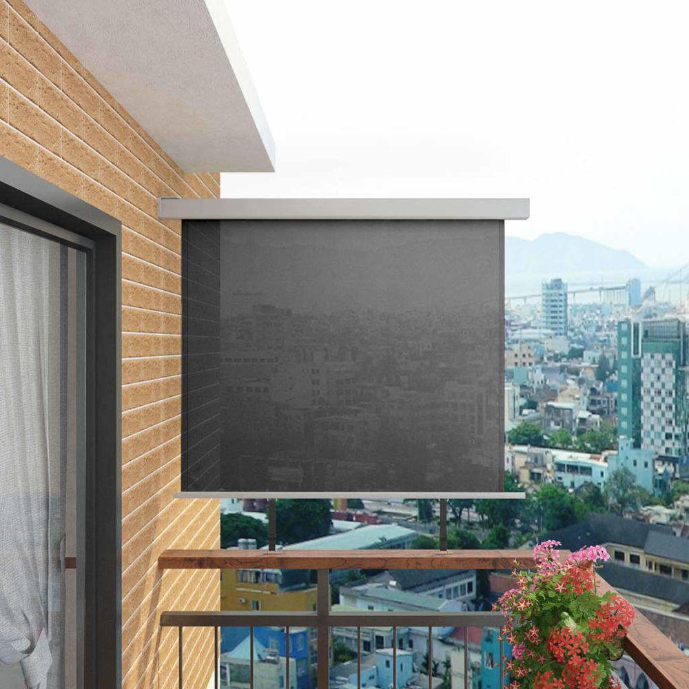 Vidaxl Auvent latéral de balcon multifonctionnel 150 x 200 cm Gris - Vie en extérieur - Pelouses et jardins | Gris | Gris