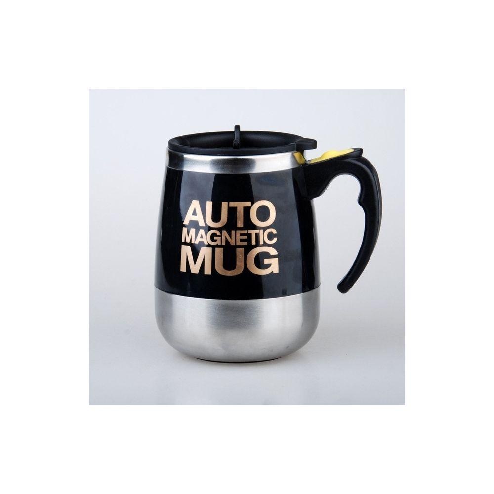 Wewoo Mélangeur de ménage portatif de tasse de mélange de de café de 2 PCS automatique noir