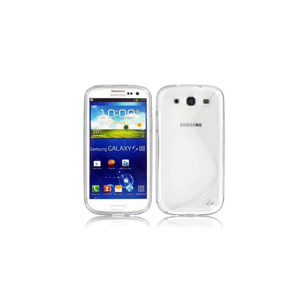 Mecer - Coque Samsung Galaxy S3 - Silicone Transparent