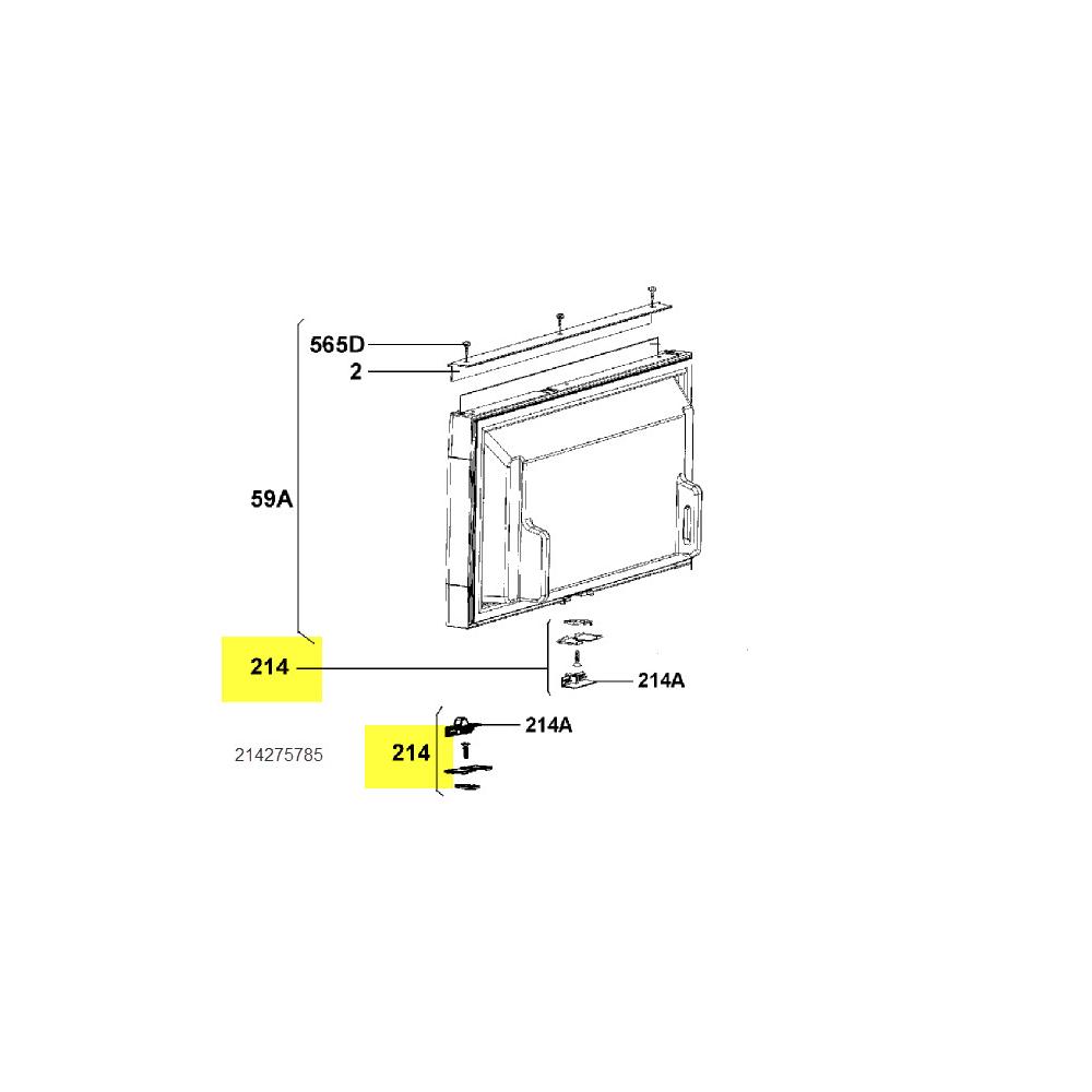 Dometic Fermeture De Porte Ref/cong reference : 241275785