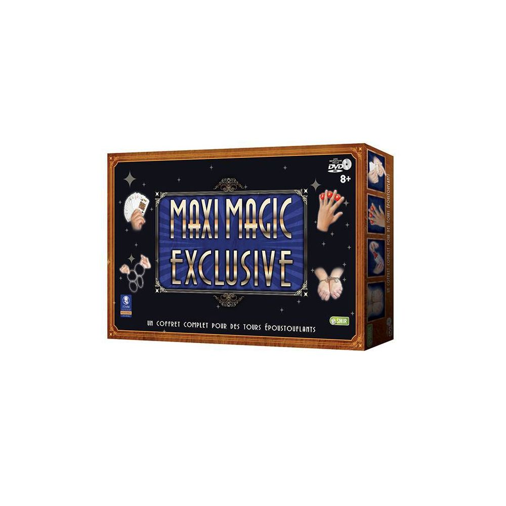 Smir Coffret Maxi Magic Collection Exclusive - 75 tours époustouflants - DVD de présentation