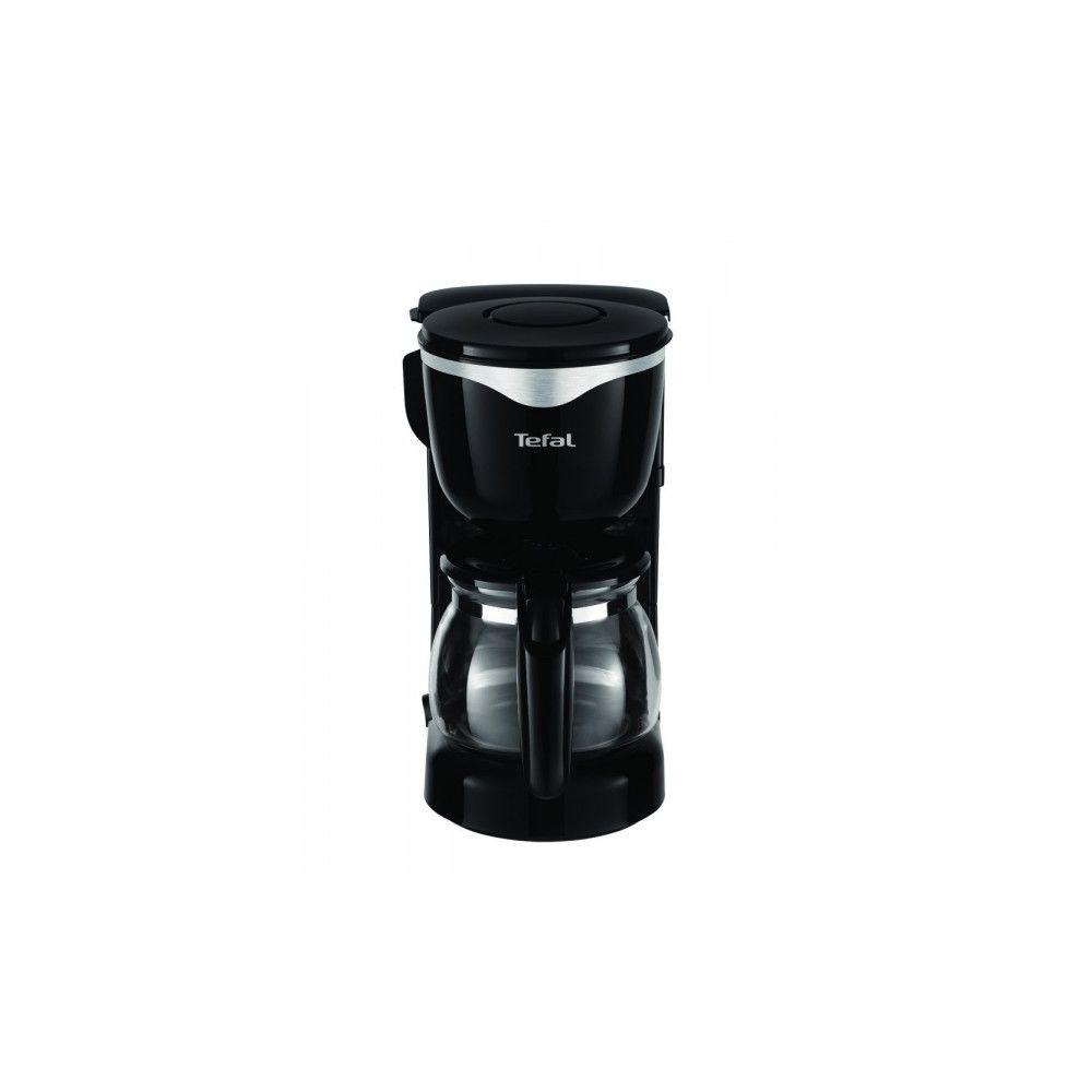 Tefal TEFAL Cafetière Filtre 6 Tasses Noir/Inox CM340811