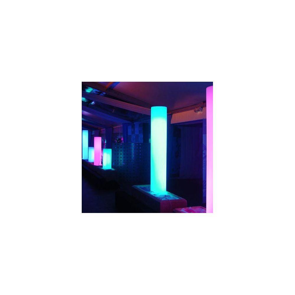 Slide CILINDRO - Colonne lumineuse d'extérieur Blanc H130cm - Luminaire d'extérieur Slide designé par