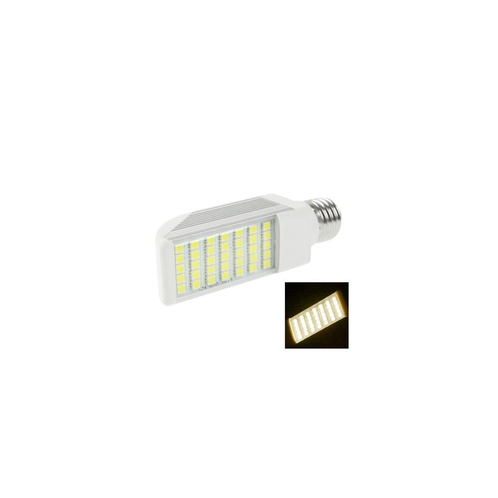 Wewoo Ampoule LED Horizontale blanc transversale chaude E27 8W 35 5050 SMD LED, AC 85V-265V