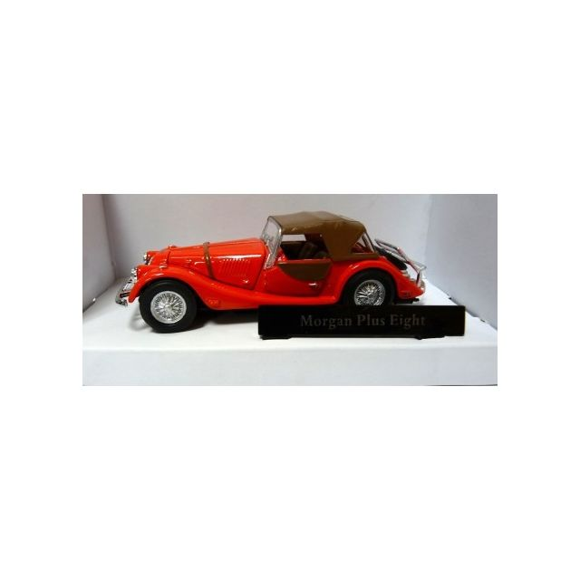 HTC - VOITURE ANCIENNE MORGAN PLUS EIGHT PLUS ROUGE 1/43 - HTC