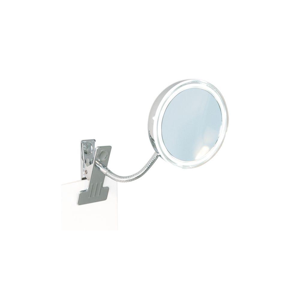 Bravat Miroir cosmétique ALIMOS grossissant 5x Hauteur totale 270 mm