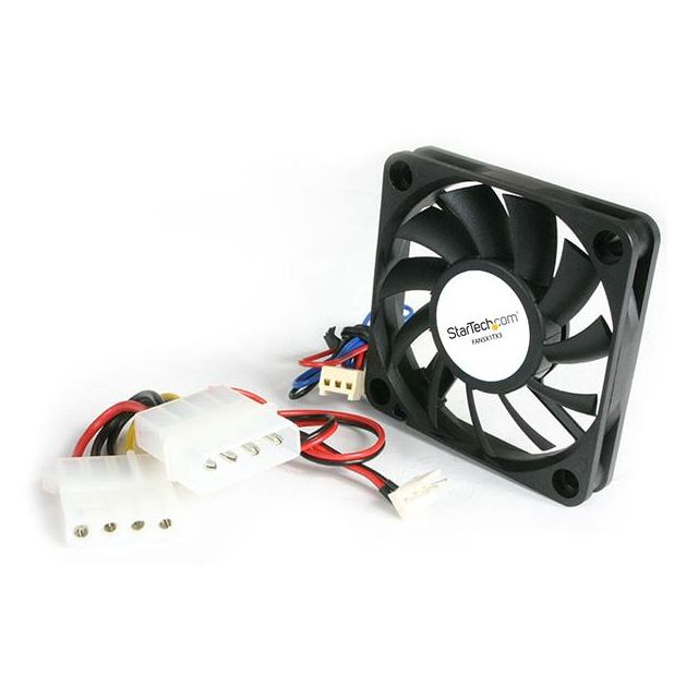Startech -StarTech.com 5x1 cm TX3 Replacement Ball Bearing Fan (also includes a TX3 to LP4 adapter) Boitier PC Startech  - Ventilateur Pour Boîtier Startech