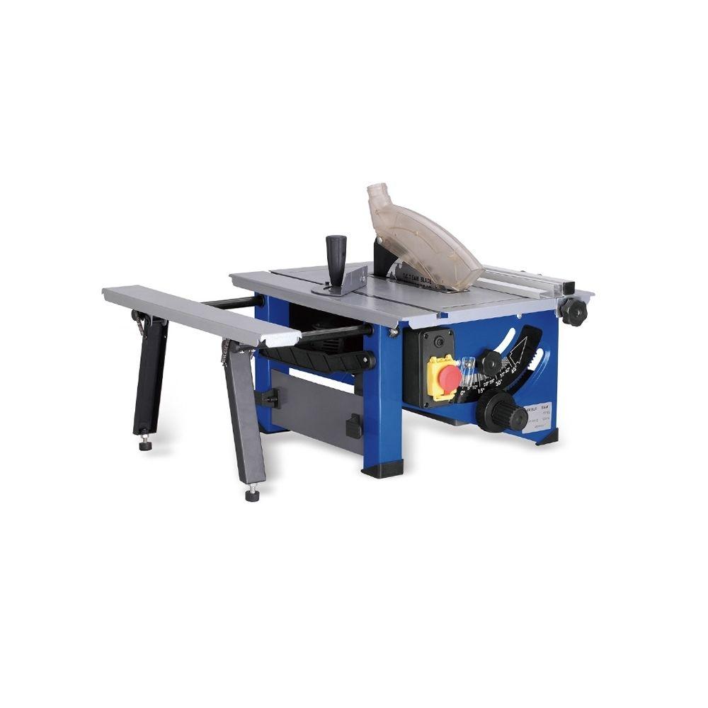Wewoo Table en bois de glissement de ménage de 8 pouces a vu la scie circulaire de bricolage électriquelame de de 24 dents