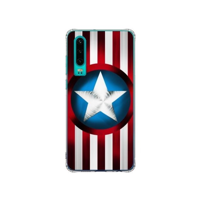 Apple - Coque Huawei P30 Captain America Great Defender - Eleaxart - Accessoires pour Smartphone Huawei P30