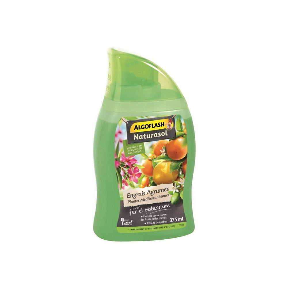 Algoflash ALGOFLASH NATURASOL Engrais liquide Agrumes et plantes méditerranéennes - 375 ml