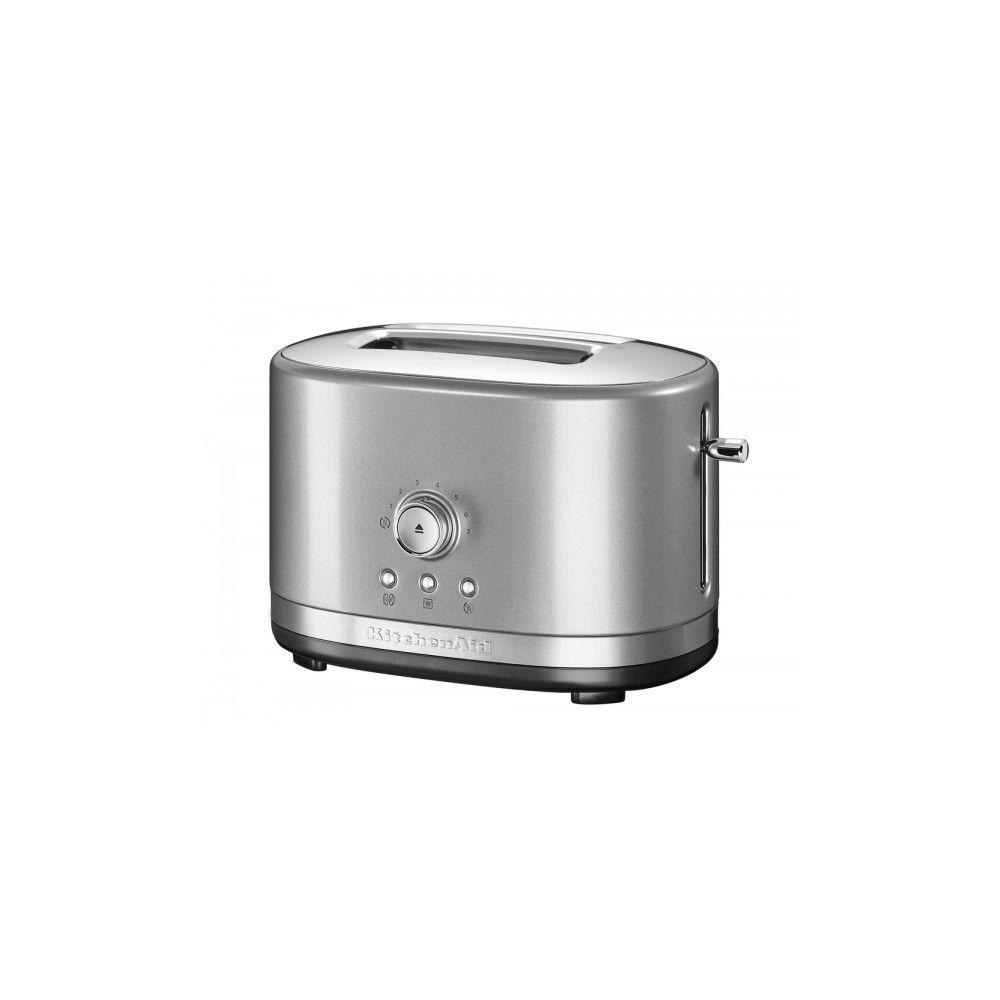 Kitchenaid kitchenaid - grille-pain 2 fentes 1200w gris argent - 5kmt2116ecu
