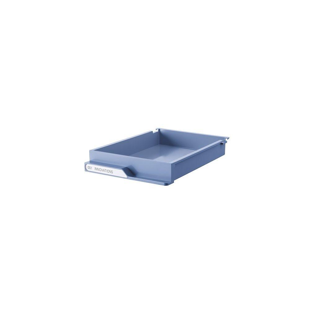 Clen Lot de tiroirs bleu pour dessertes colonnes gamme Clen