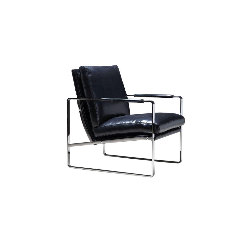 La Maison Du Canapé Chaise Confort Design KASI - Bleu foncé