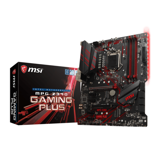 Msi - Intel Z390 MPG GAMING PLUS - ATX Msi   - Composants