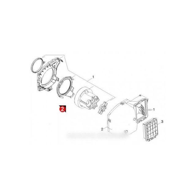 Wessper Moteur Cylindre pour Aspirateur Karcher T15//1 1200W