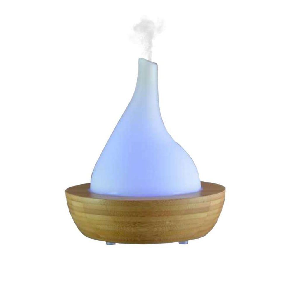 Zen Arome Diffuseur d'huiles essentielles Bambou et verre Hoki Genzu
