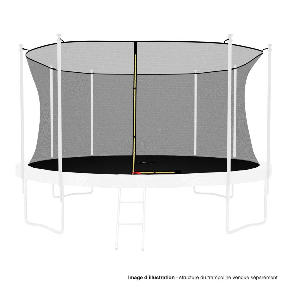 Kaia Sports Filet intérieur de sécurité pour trampoline : ø 14Ft, 8 Perches