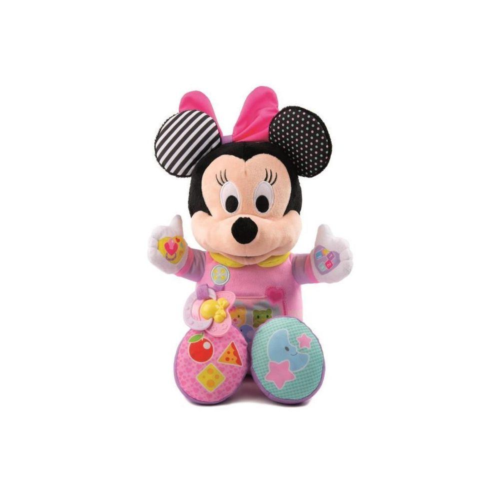 Clementoni CLEMENTONI Disney Baby - Ma poupée a cajoler Minnie - Jeu d'éveil