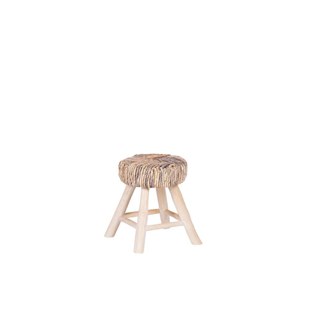 Beliani Beliani Table appoint en bois clair ORITZ - marron clair