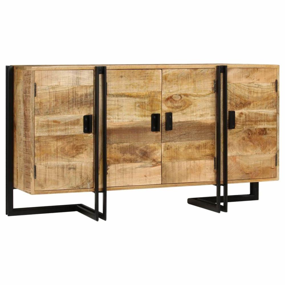 Vidaxl Buffet Bois de manguier massif 150 x 40 x 80 cm   Brun - Armoires et meubles de rangement - Buffets et bahuts   Brun   B