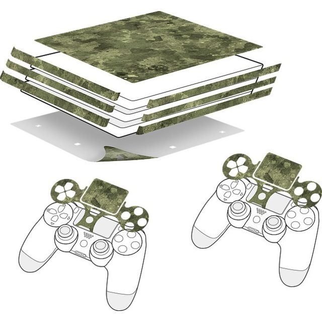 Speedlink - Sticker pour PS4 PRO et manette - Camouflage - Speedlink