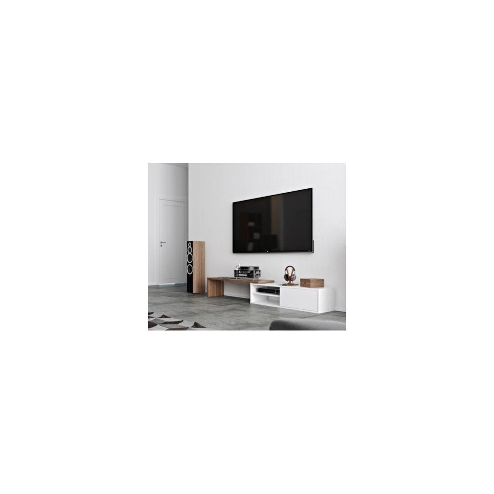 Camif Meuble Tv Torre Blanc Noyer Meubles Tv Hi Fi Rue Du Commerce