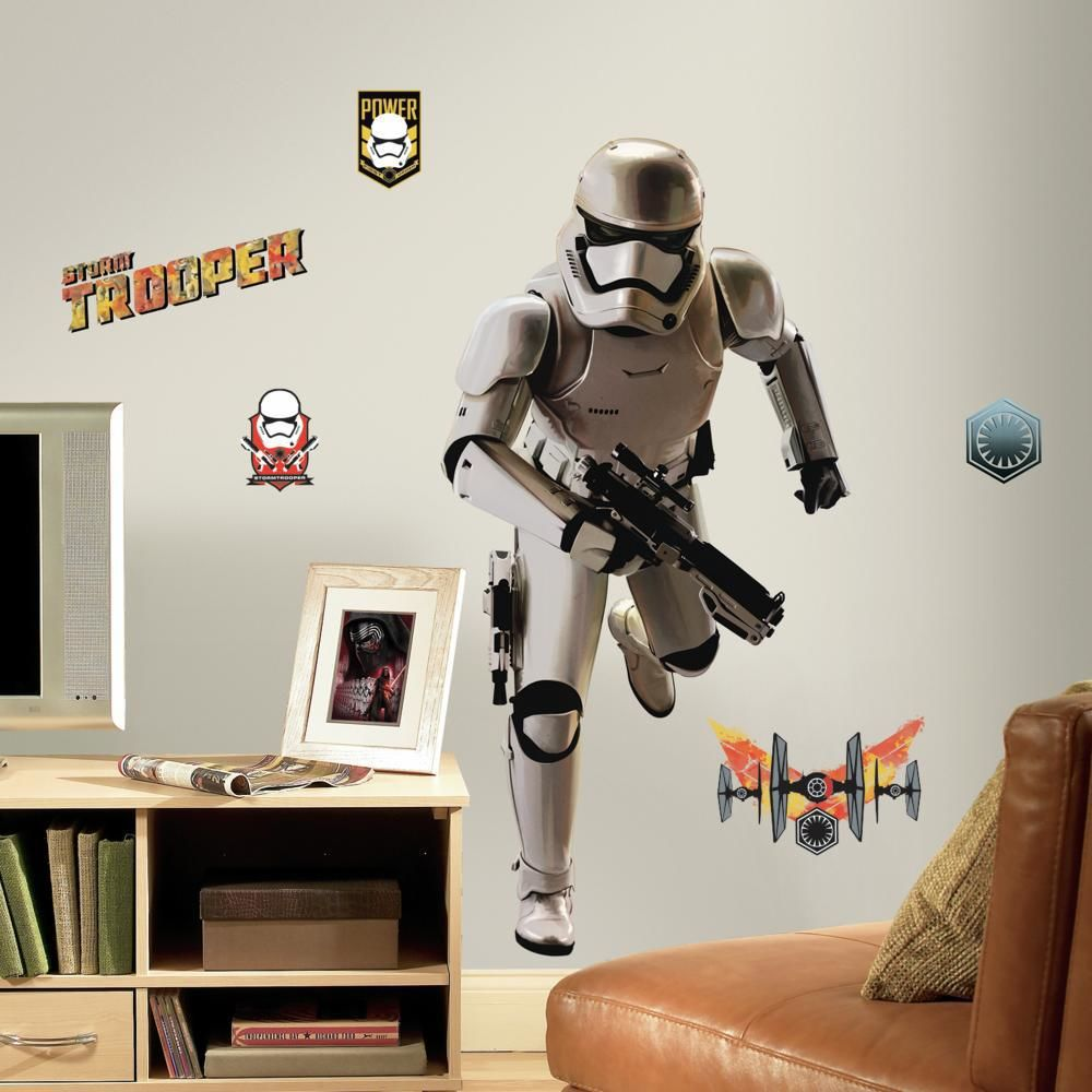 Mon Beau Tapis STAR WARS STORMTROOPER - Stickers repositionnables géants Stormtroopers Star Wars Episode VII 113x56