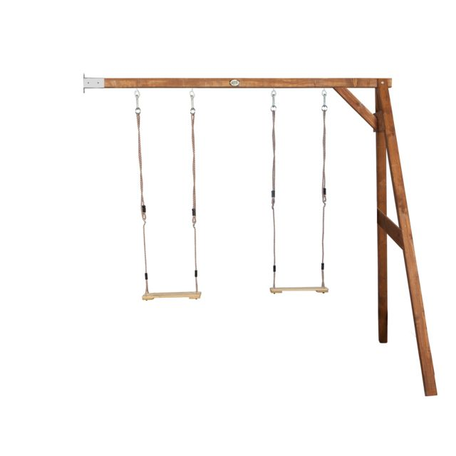Axi - Portique Double Swing wall mount - Plein air