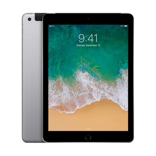 "iPad Apple iPad - 9,7"""" - 128 Go - Wifi + Cellular - MP262NF/A - Gris sidéral"