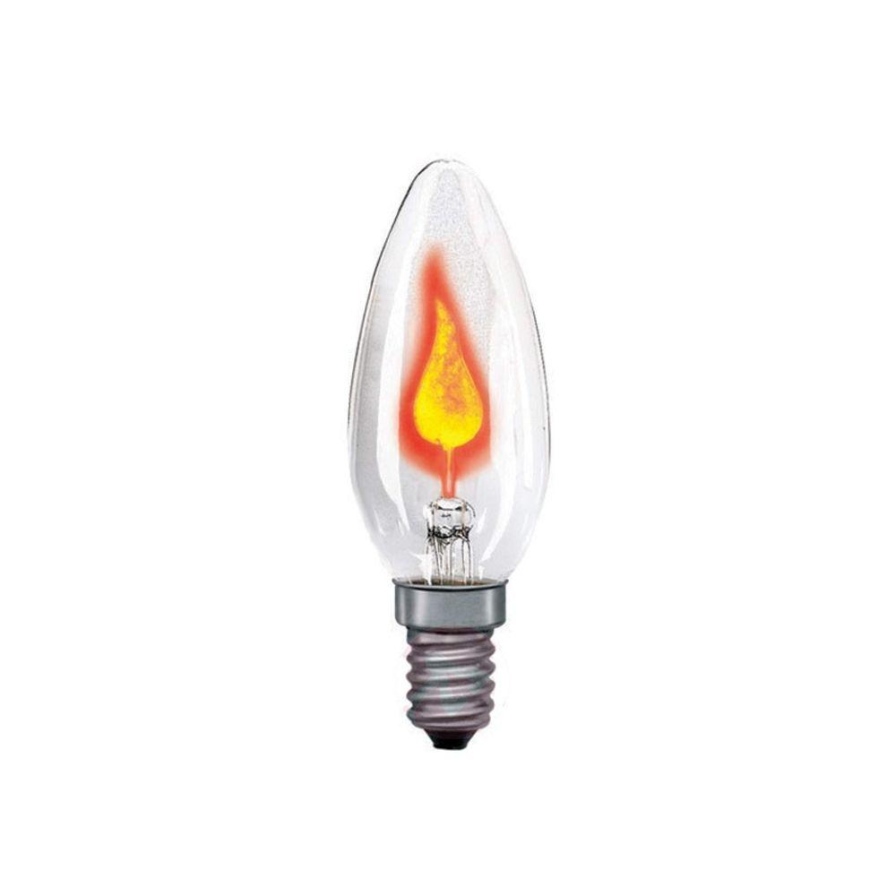 Led-Da Ampoule Incandescente Flamme Déco Scintillante 3W E14 601Lm