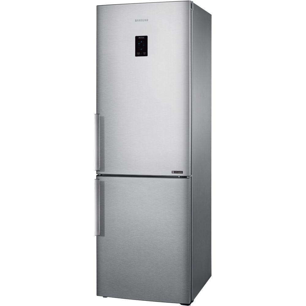 Samsung samsung - réfrigérateur combiné 60cm 328l a++ nofrost inox - rb33j3315sa