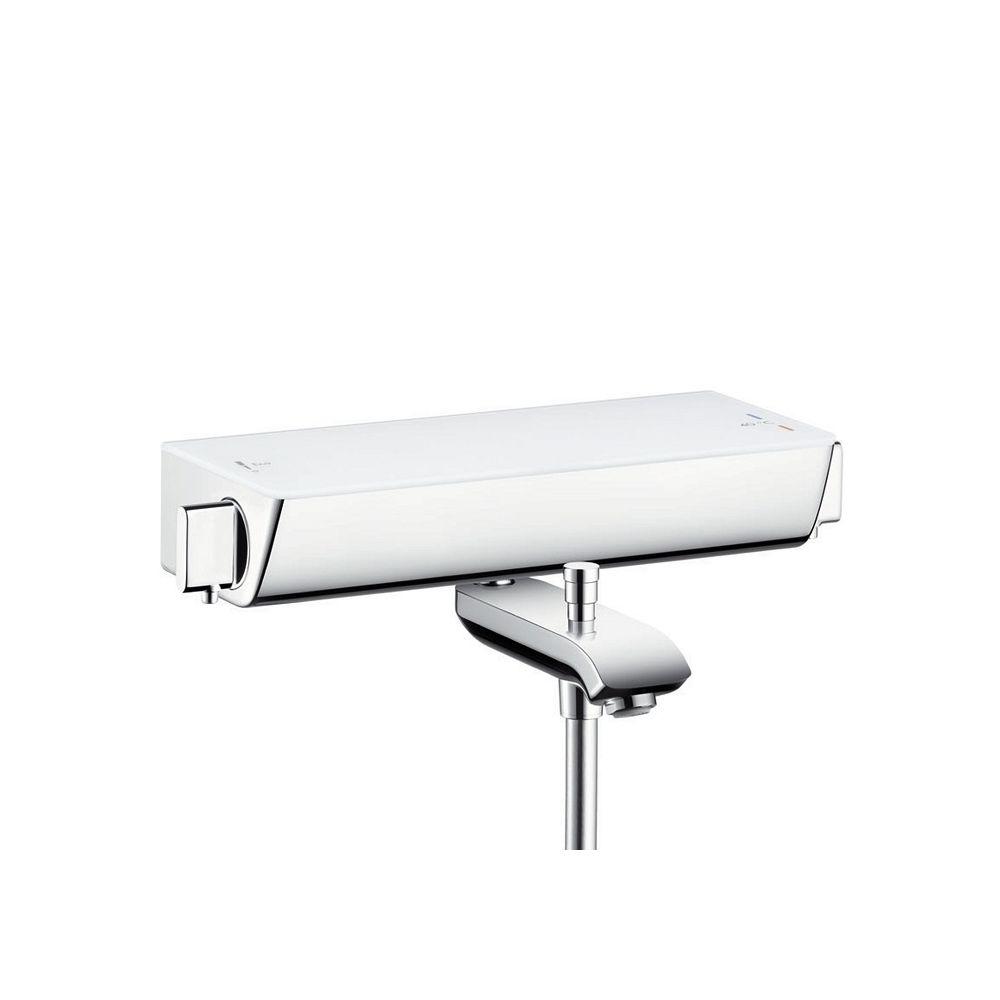 Hansgrohe Mitigeur Bain/Douche thermostatique Blanc Ecostat Select 13141400