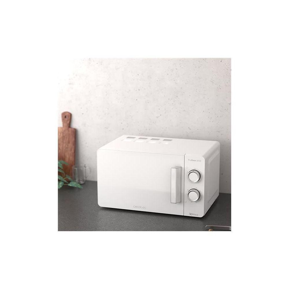 Cecotec Micro-ondes de 20L avec minuterie 1150W blanc