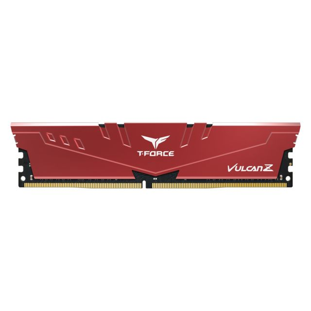 T-Force - Vulcan Z - 2 x 8 Go - DDR4 2666 MHz - Rouge - RAM PC