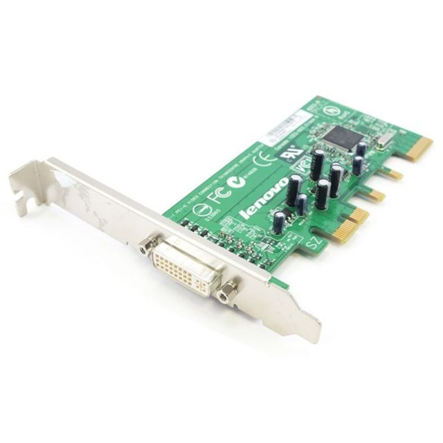 Lenovo - Carte Adaptateur Lenovo IBM FRU 39J9334 PCI-Express x16 DDR SDRAM DVI ADD2-R - Occasions Carte Graphique