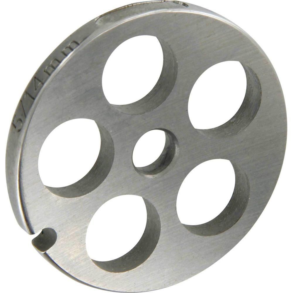 Reber Grille inox Reber Pour hachoir électrique ou manuel n°5 Trou 14mm