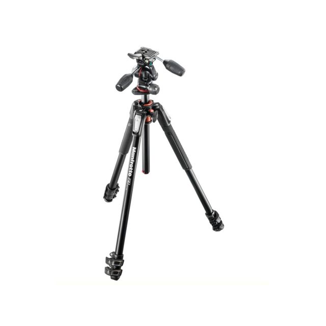 Manfrotto - MANFROTTO Trépied MK190XPRO3-3W avec rotule MHXPRO-3W - Manfrotto