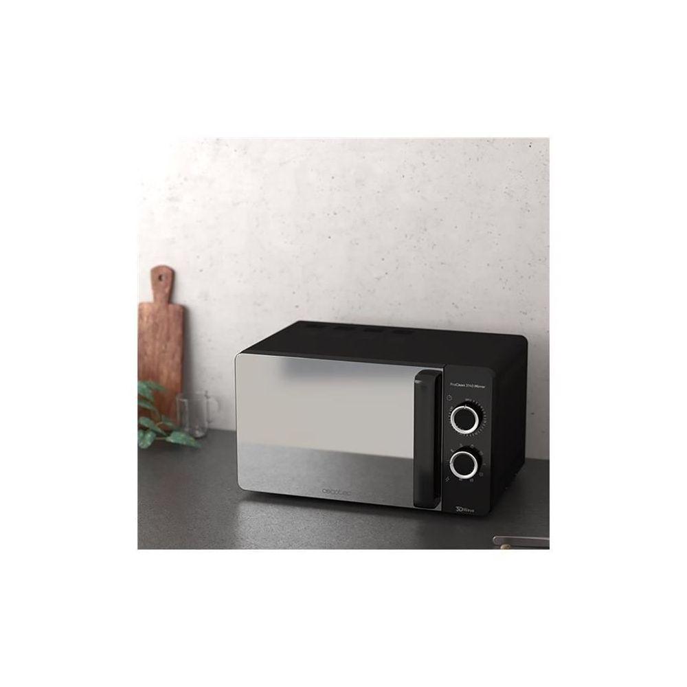Cecotec Micro-ondes de 20L avec minuterie 700W noir
