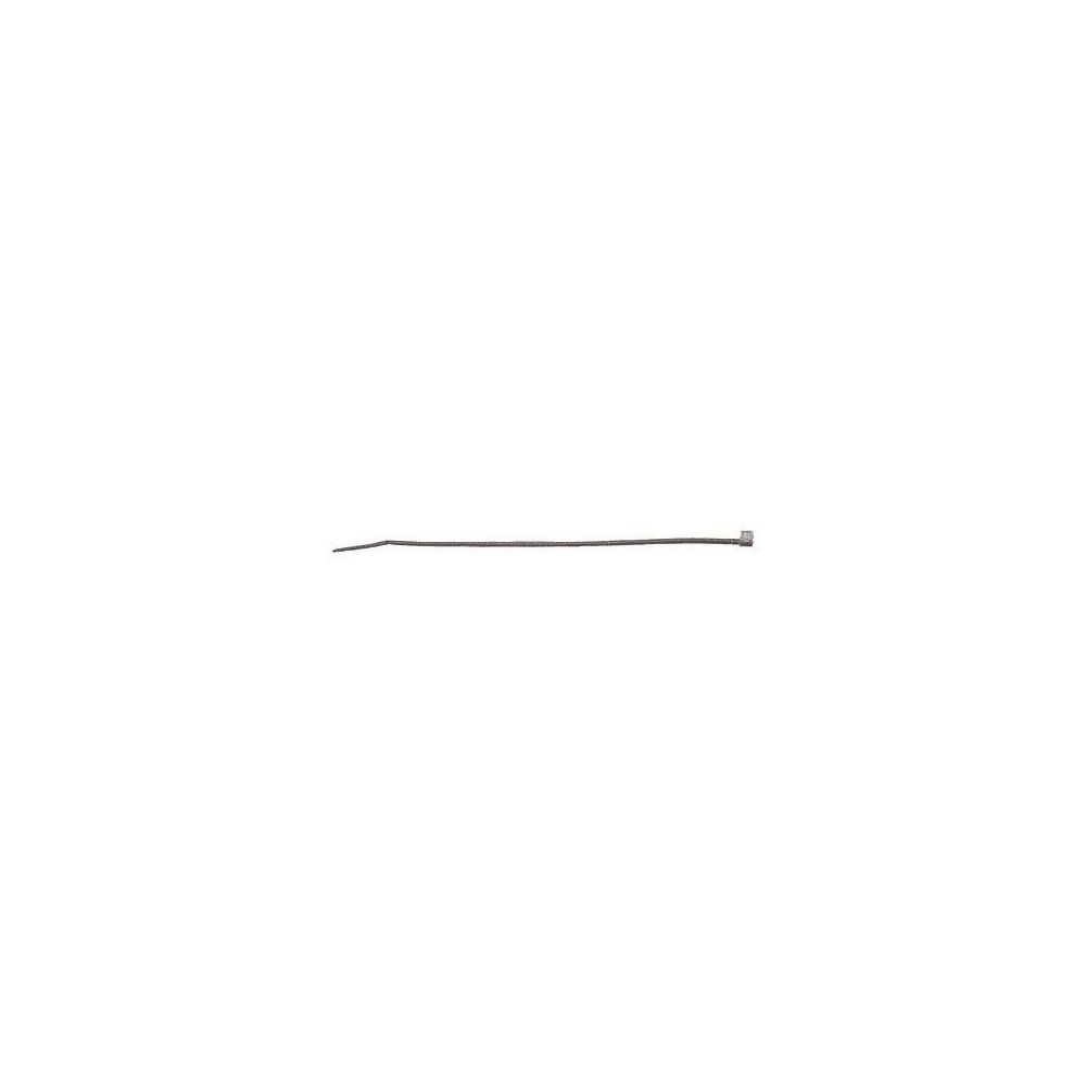 Fischer Fischer Serre-câble UBN 7,6 x 550 noir, 100 pce - 069375
