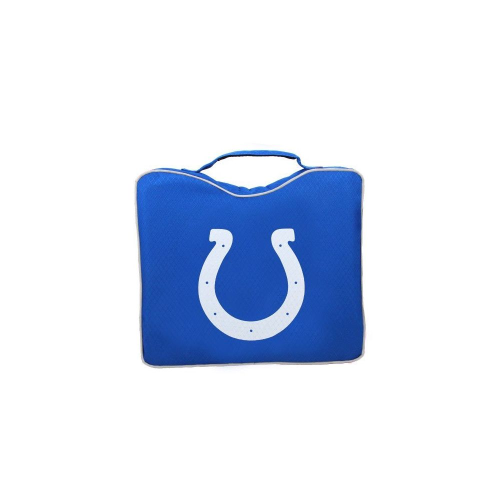 Rawlings NFL Lightweight Stadium Bleacher Seat Cushion with Carrying Strap Indianapolis Colts