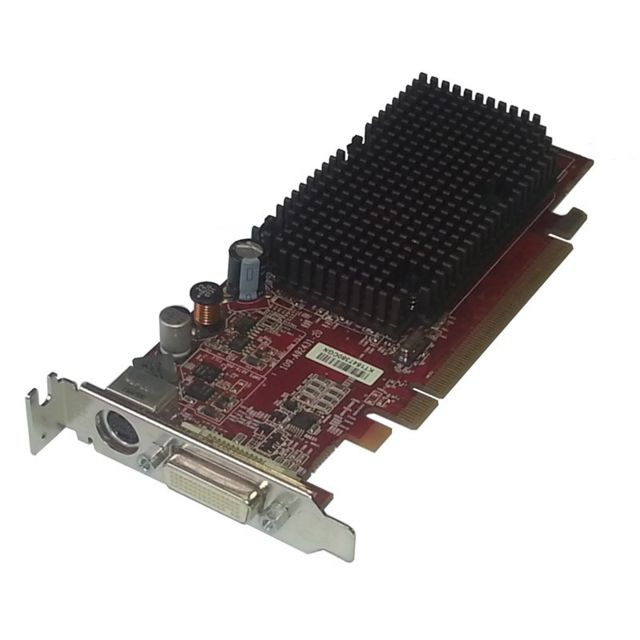 Ati - Carte Graphique ATI Radeon X1300 256Mo PCI-E DMS-59 S-Video 109A92431 Low Profile - Carte Graphique AMD