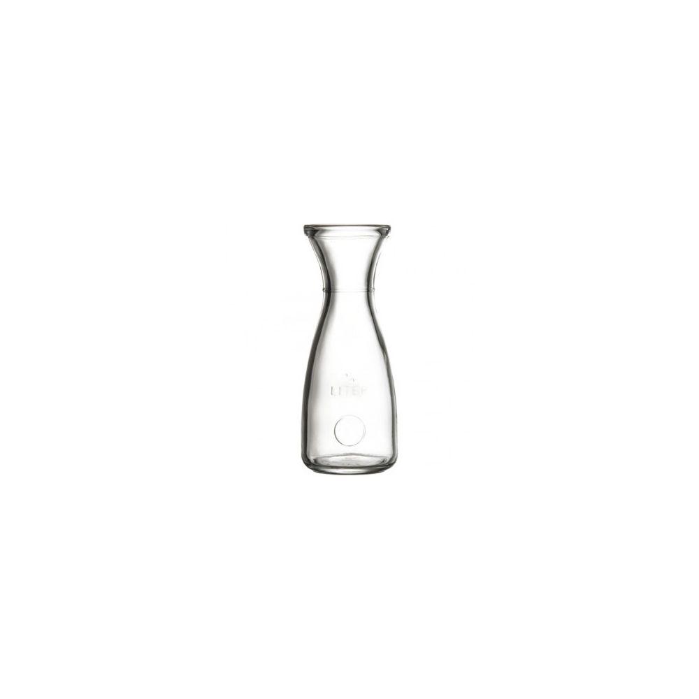 Materiel Chr Pro Carafe à Vin en verre trempée 0.5 à 1.0 L - Lot de 6 - Stalgast - Verre 0.5 l