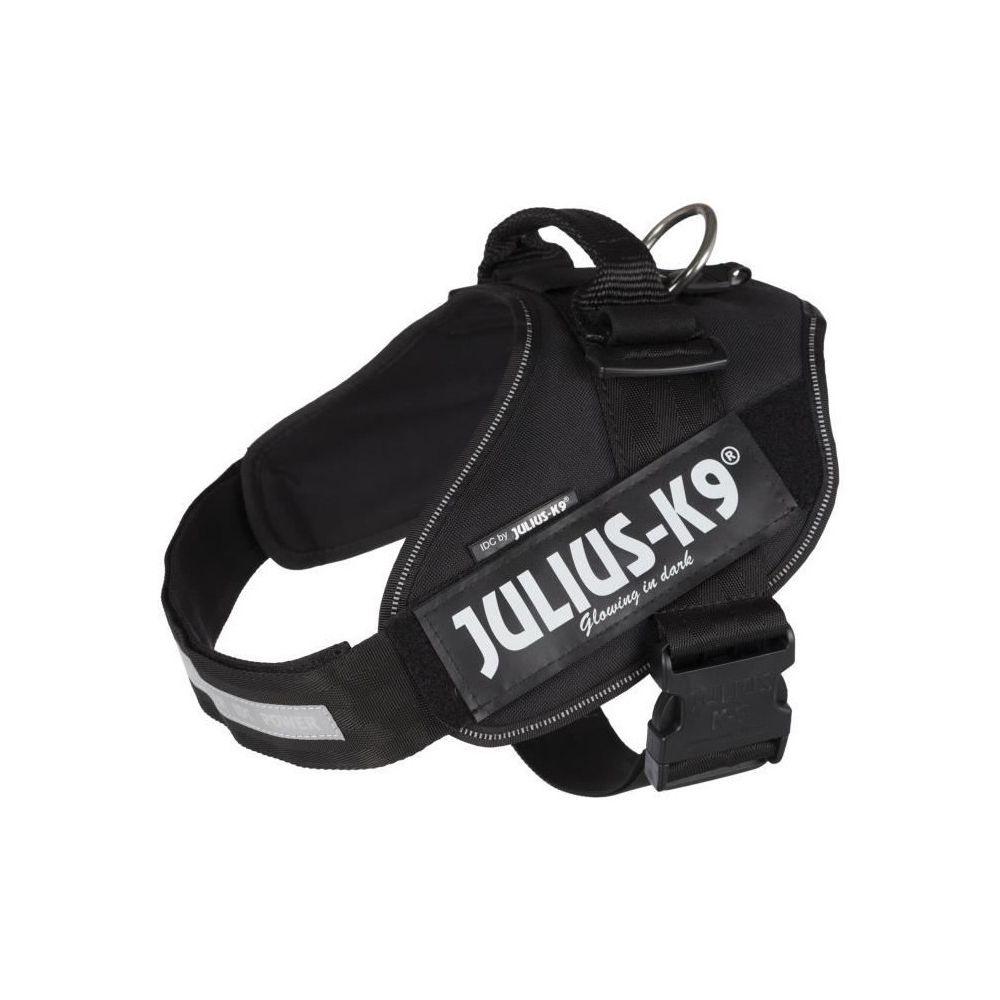 Julius K9 JULIUS-K9 Harnais Power IDC - 2 - L-XL : 71-96 cm-50 mm - Noir - Pour chien