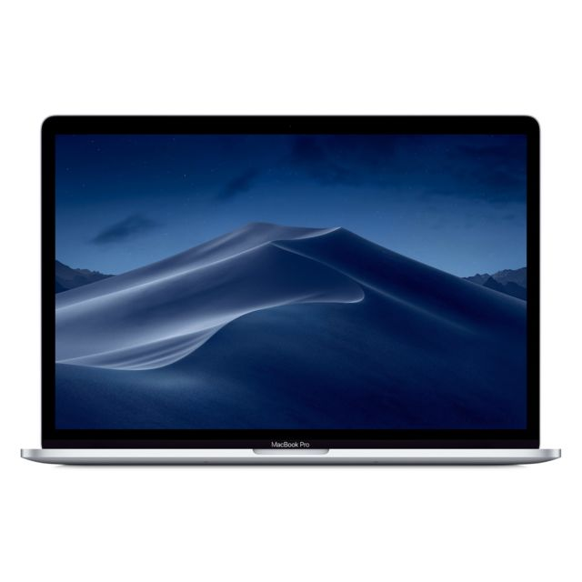 Apple - MacBook Pro 15 Touch Bar - 512 Go - MPTV2FN/A - Argent - Ordinateur portable reconditionné