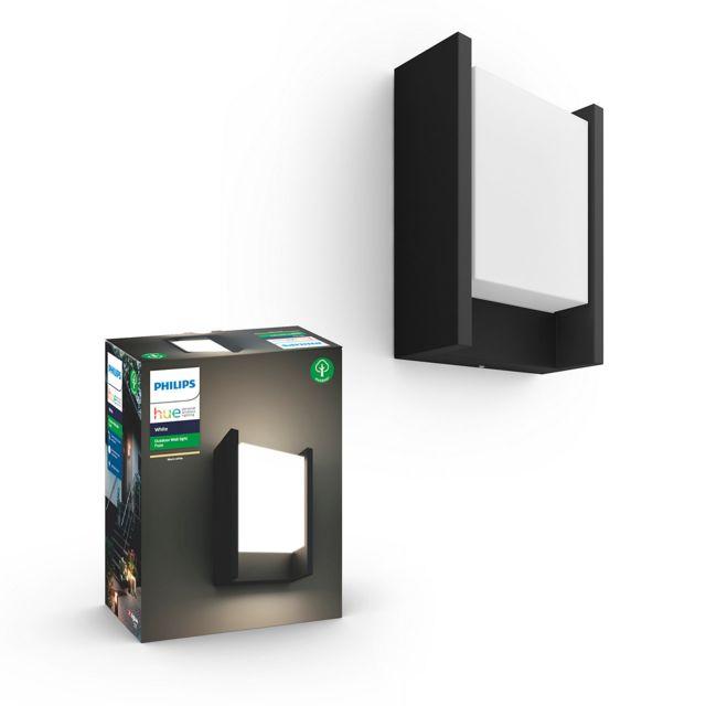 Philips Hue - White Ambiance - FUZO - Applique extérieure rectangle - Noir