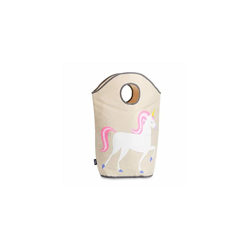 Wildkin Wildkin Kids Unicorn Laundry Hamper for Boys and Girls Collapsible Fabric Clothes Hamper Features Two Carrying Handles a