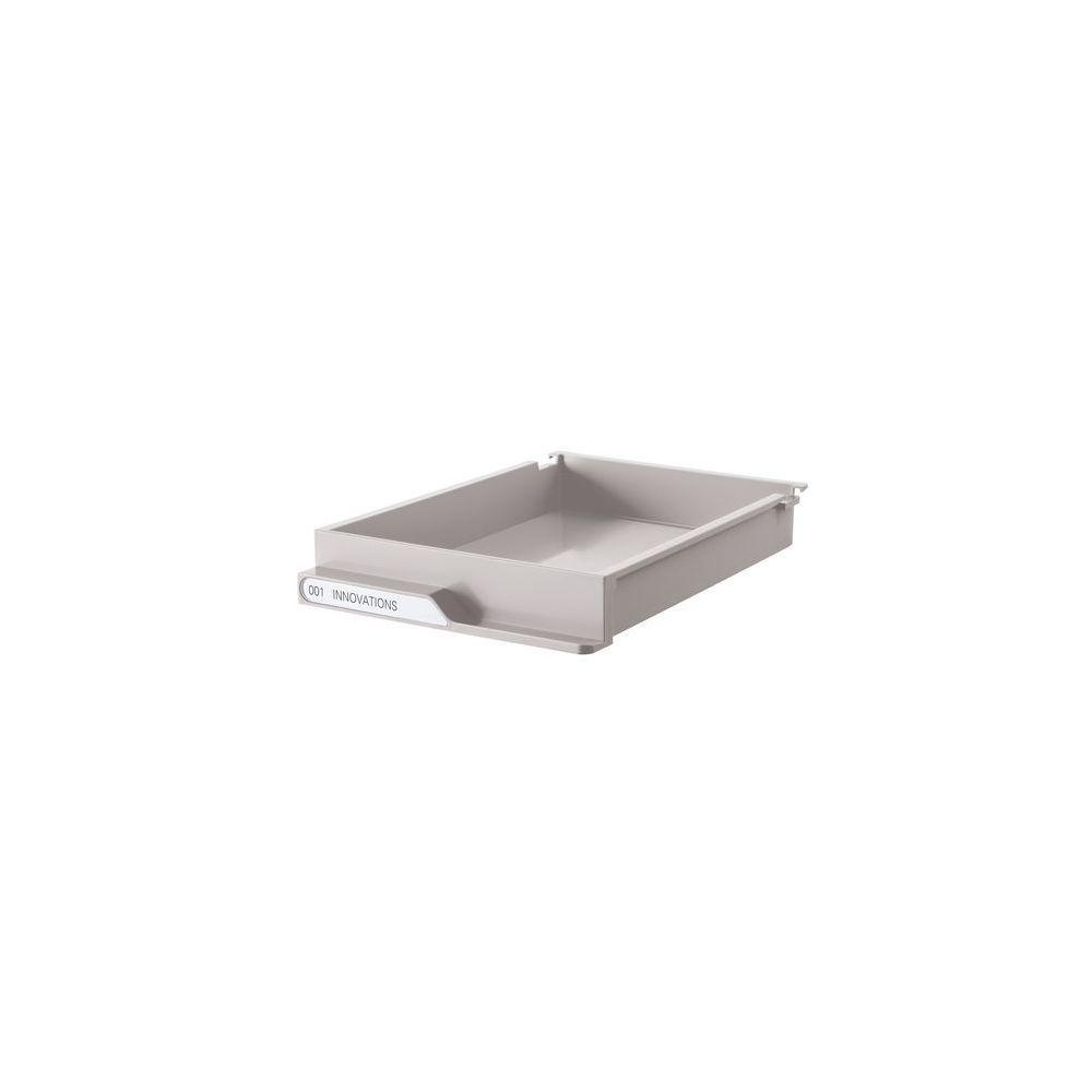 Clen Lot de tiroirs gris pour dessertes colonnes gamme Clen