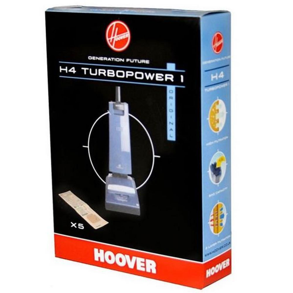 Hoover Boite de 5 sacs H4 TURBOPOWER1